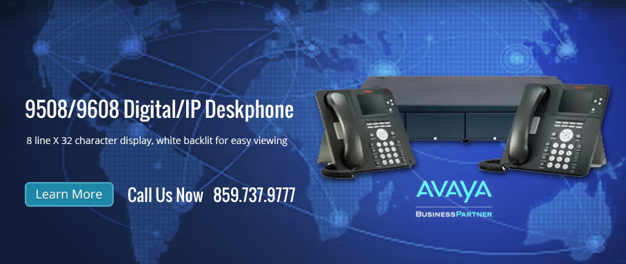 9508/9608 Digital/IP Deskphone