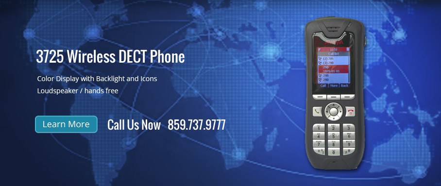 3725 Wireless DECT Phone